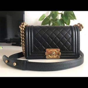 Chanel le boy bag small